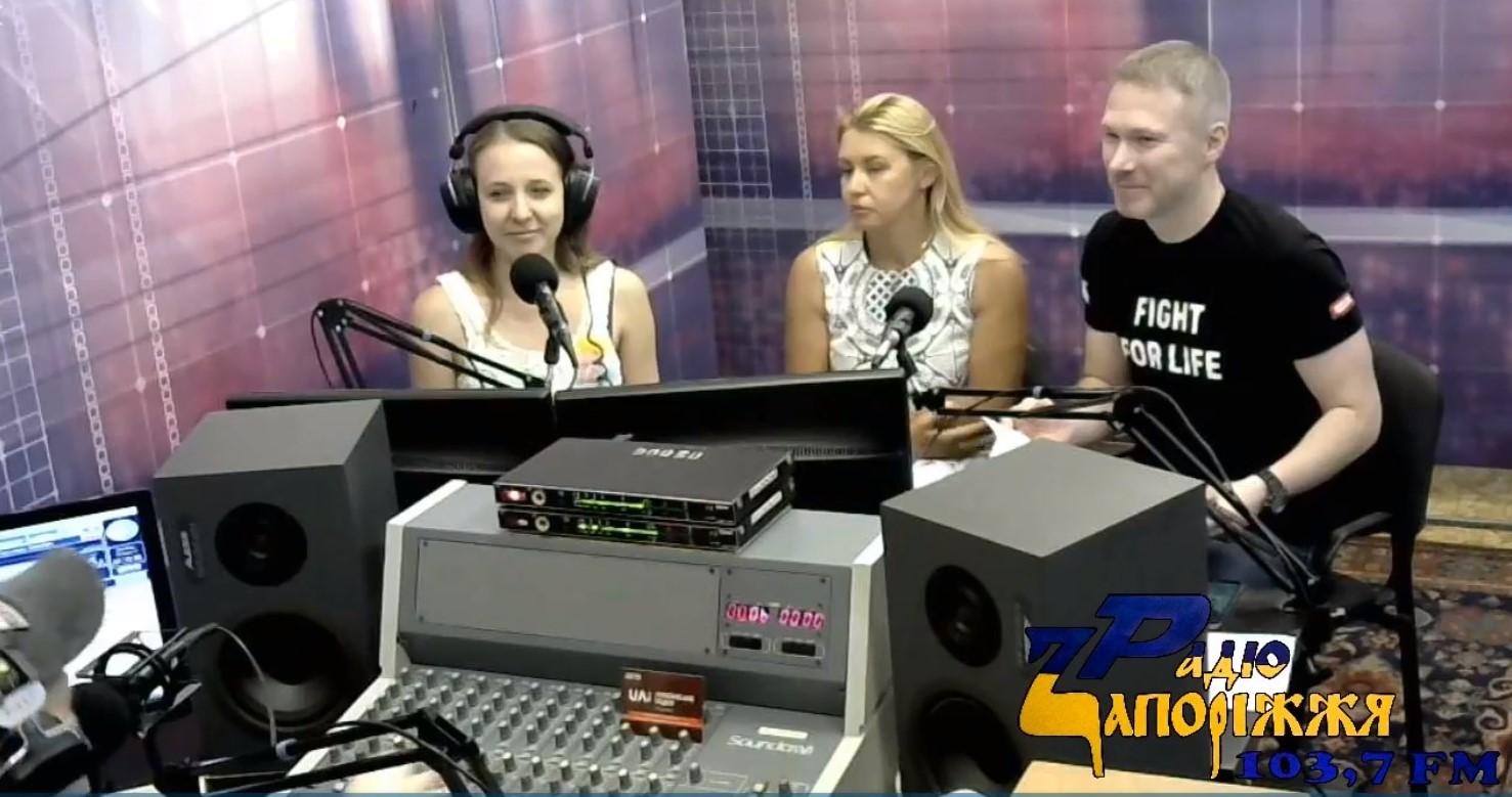 UA: Українське радіо Запоріжжя — Говоримо про вірусні гепатити