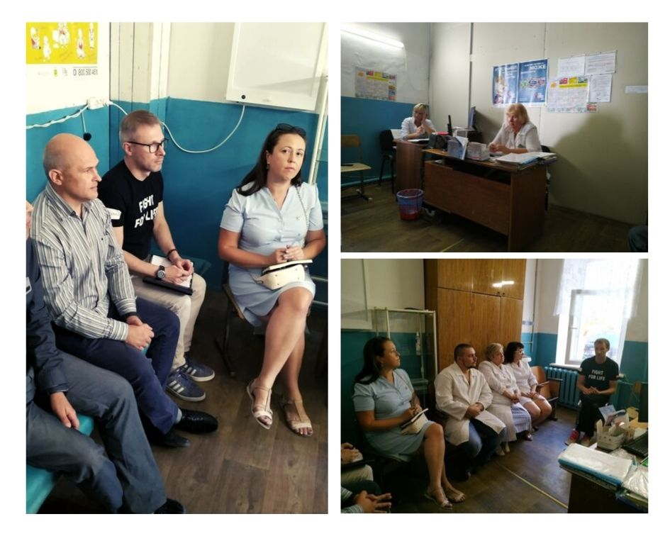 Робоча зустріч в рамках реалізації Плану переходу на закупівлю соціальних послуг за державні кошти через ДУ «Центр громадського здоров'я Міністерства охорони здоров'я України»