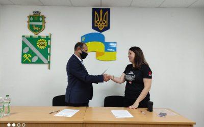 Підписання меморандуму про співпрацю з Пологівською міською територіальною громадою