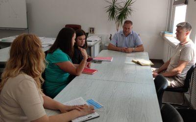 Робоча зустріч в Управлінні соціального захисту населення Запорізької міської ради